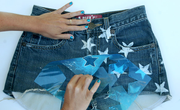 Star Shorts DIY 4th of July