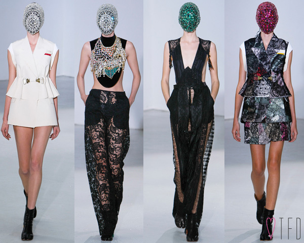Maison Martin Margiela FALL 2012 COUTURE