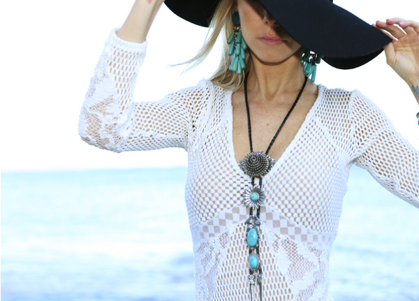 Joes Jeans Lace Dress_BrittanyHart_TheFashionDug_Coachella Style